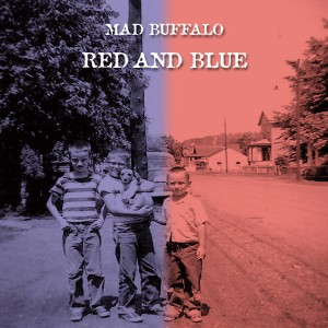 Mad Buffalo - Red and Blue